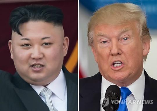 北 '트럼프 공격' 유엔연설, 美 '무력시위' 첨예한 대치