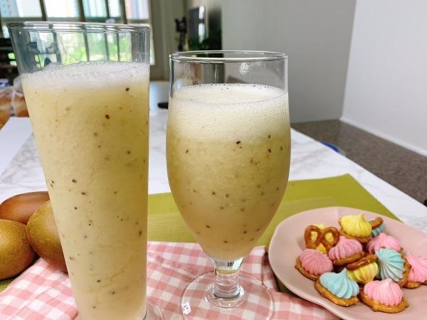 생과일 주스, 키위 에이드 // 키위 주스 만들기 (  2가지 방법 )