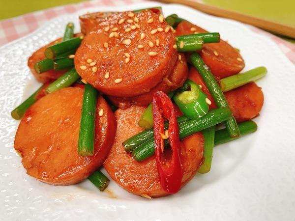 분홍소세지  요리, 수미네반찬 분홍소세지볶음 만들기