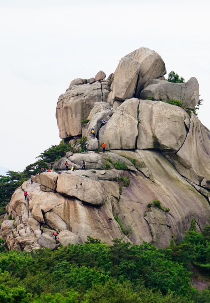 [토요산행] 북한산 비봉능선 210529