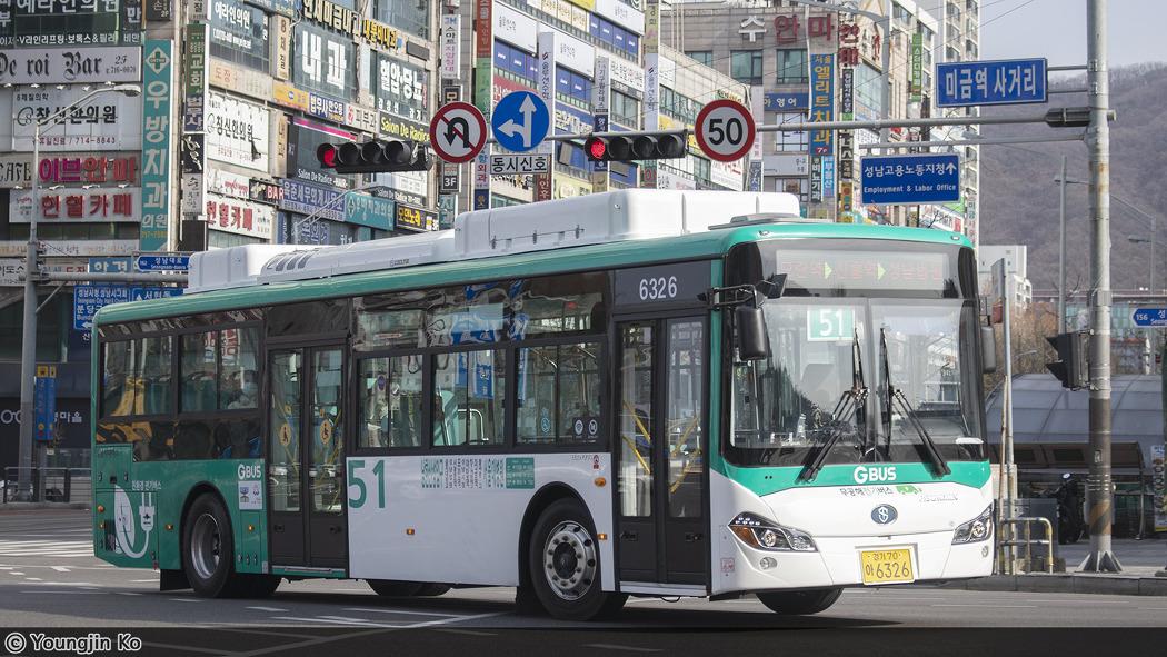 성남시내버스 51번 [6326]