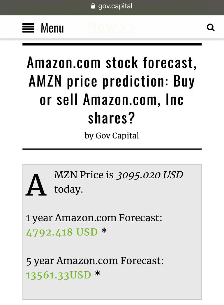 2026년 5년 후 아마존 주가 12000달러 가능한가?