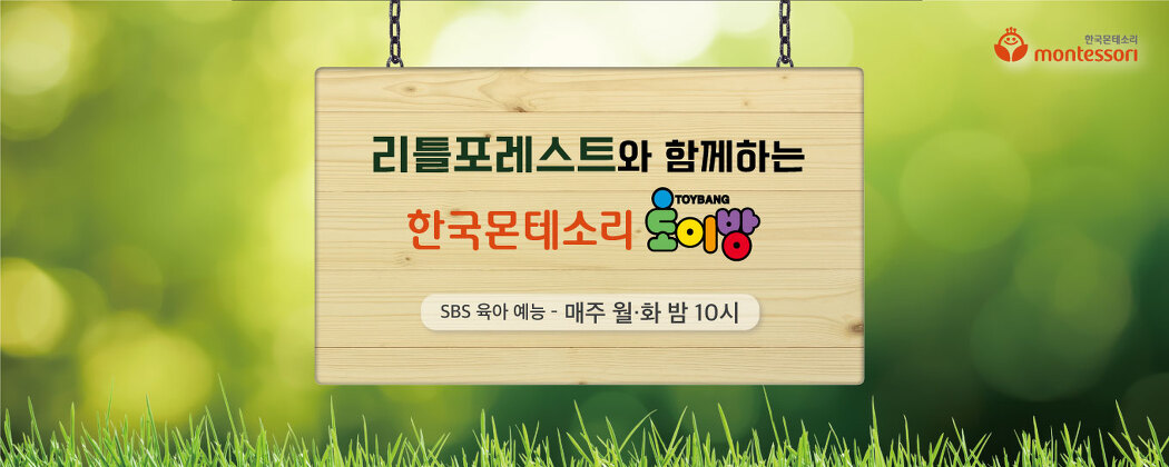 SBS 육아 예능 리틀포레스트 속 한국몬테소리 교구 토이방