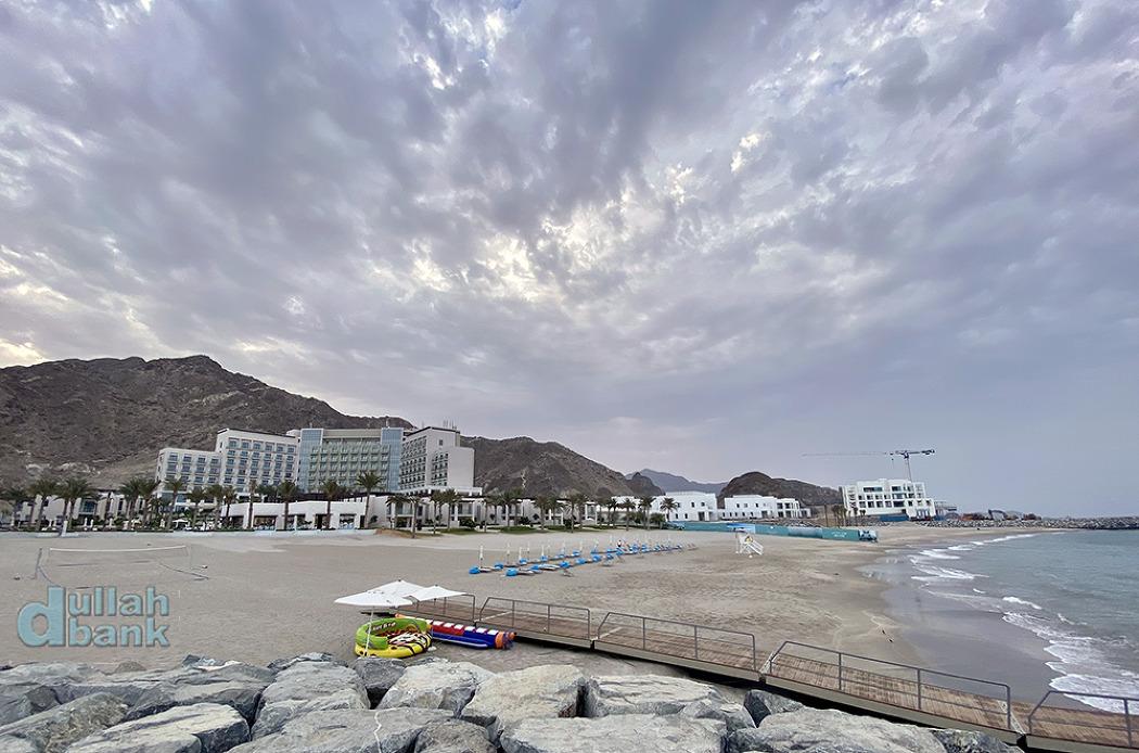 [푸자이라] 산과 바다에 둘러쌓인 최초의 두바이 밖 어드레스 리조트, 어드레스 비치 리조트 푸자이라