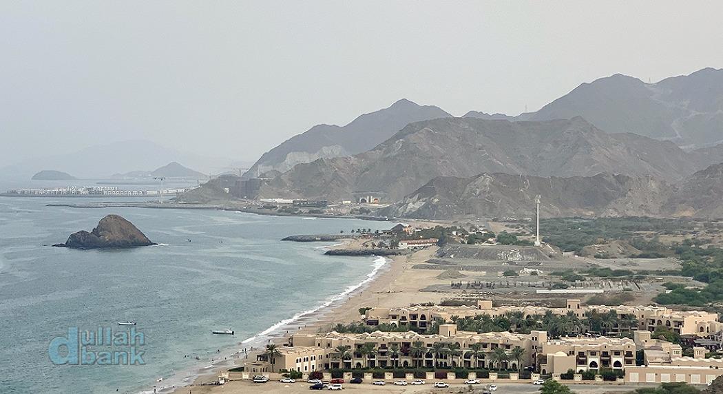 [푸자이라] UAE에서 보기 드물게 산과 해변이..