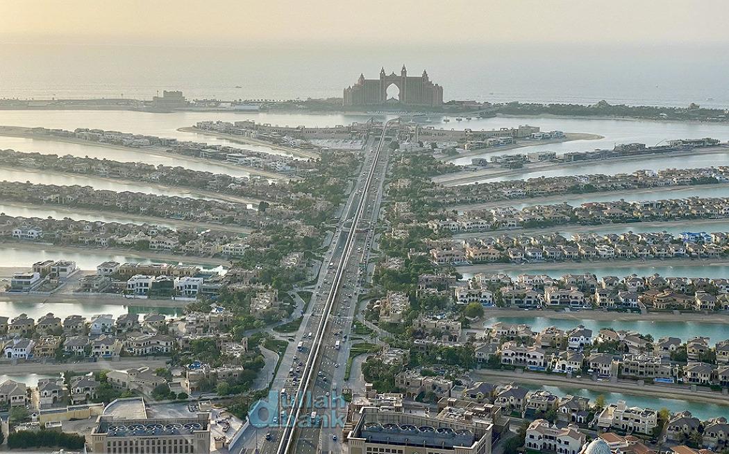[두바이] 인공섬 팜 주메이라 일대의 풍경을 내려다 볼 수 있는 전망대, 더 뷰 (The View)