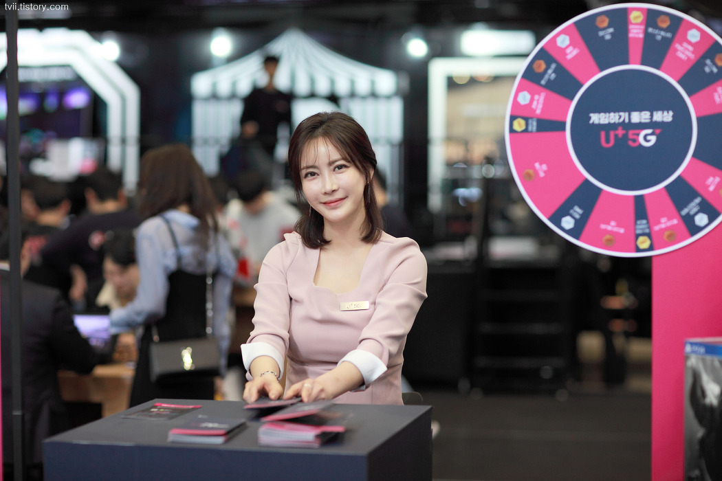 2019 부산 지스타 레이싱모델 민수아