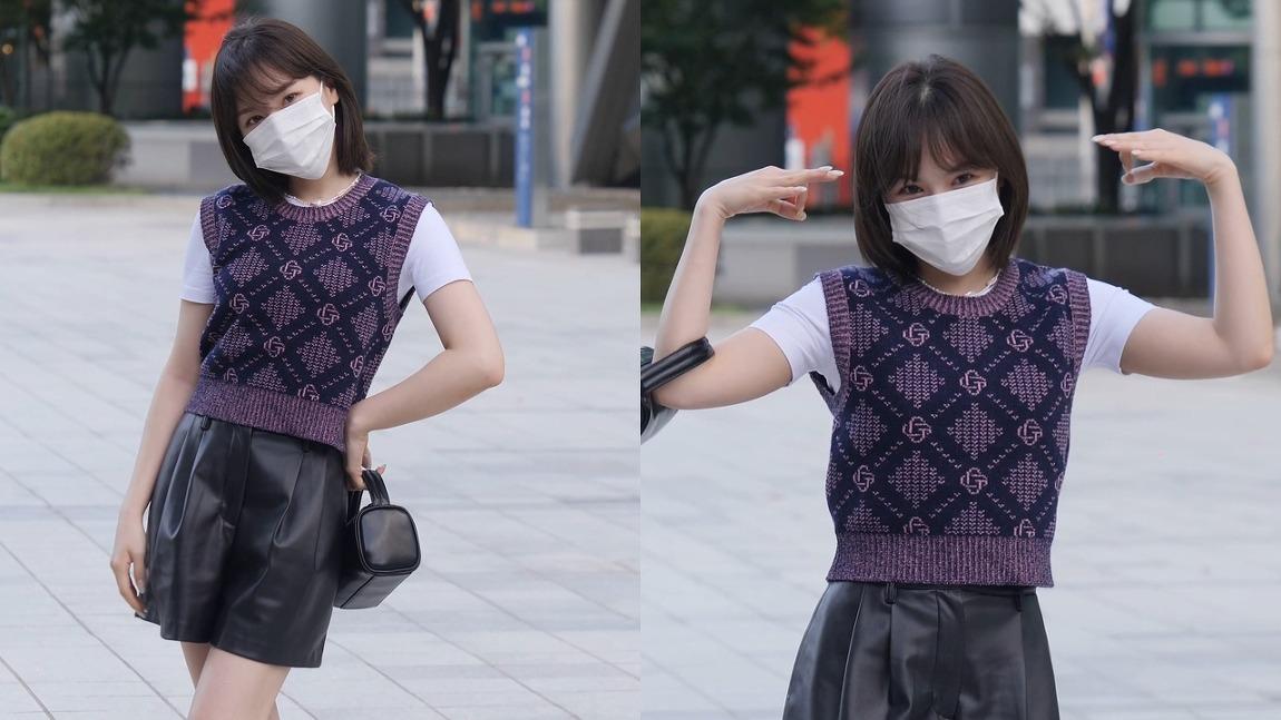 210915 영스트리트 출근길 레드벨벳 웬디 직캠 by 스피넬