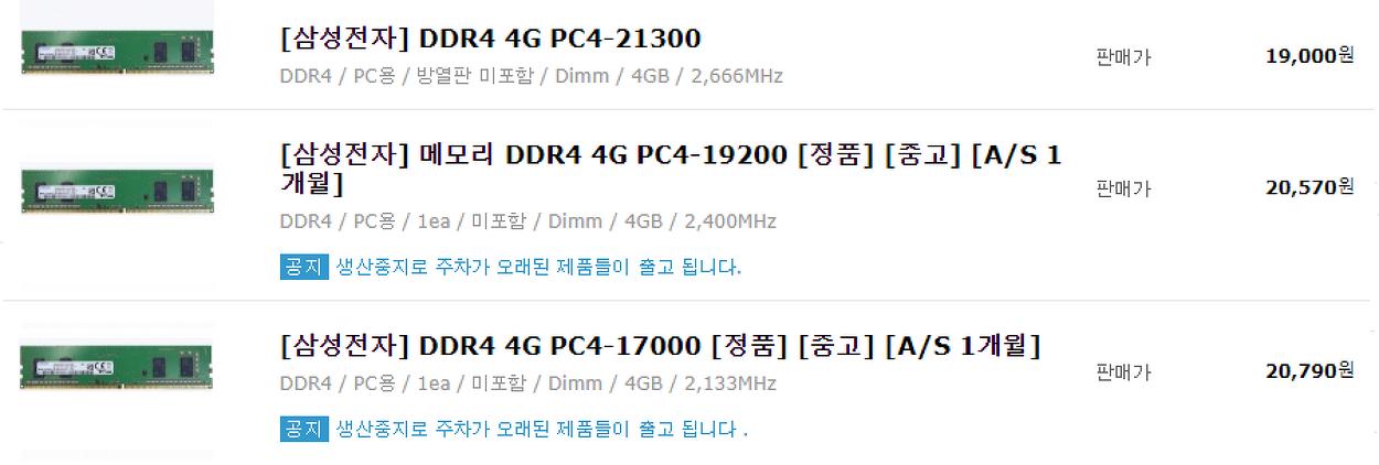 DDR-SDRAM 계열 RAM 에 대한 이해