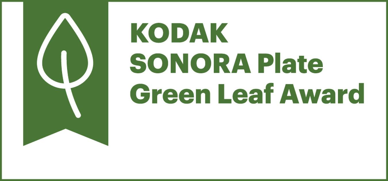 코닥, 2019 SONORA Green Leaf Award 수상..