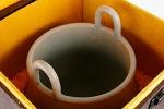 AD72. 도자기 향로  -여기저기 알튐및 가마유가 보여짐- (2.1kg)
