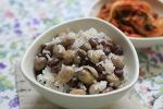 [홈메이드 / 잡곡밥] 시골집 텃밭에서 수확한 덩쿨콩과 팥, 듬뿍 넣은 잡곡밥 2018