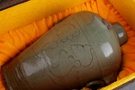 AD98. 도자기 병 -여기저기 알튐및 가마유가 보여짐- (1.2kg)