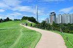 올림픽공원 몽촌토성 길 풍경