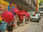 쥴리 벽화 극우들이 윤짜장 통곡의벽으로 완결/ 똥파리가 이낙연을 손가혁이 이재명을 망쳤지
