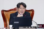 [천지일보] 기재위 전체회의 발언하는 이춘석 위원장