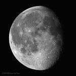 Waning Gibbous Moon 하현망