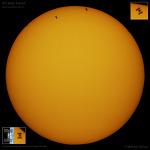 ISS Solar Transit  ISS 태양면 통과