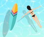 코로나브레이크 마지막 자유수영 -20200829