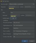 Android 서명있는 앱 Key Store 생성
