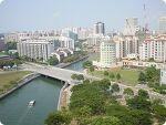 싱가포르 출장 - 내방에서 찍은 사진