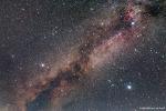 Summer Triangle and Milky Way  여름철 대삼각형과 은하수