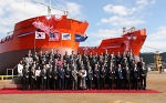 Two of the world's first LNG Dual-Fuel Dynamic Positioning Shuttle Tankers unveiled