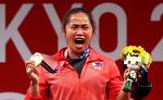 7억5천만원과 집까지…필리핀 '첫 금메달' 디아스에 포상