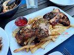 [뉴저지 잉글우드클리프] 야외 테이블 분위기가 좋은 그릭 레스토랑 'Lefkes Eastiatorio'