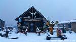 """알래스카 """" Whittier의 하얀 겨울바다 풍경"""""""