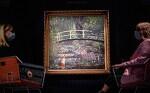 뱅크시 작품 쇼 미 더 모네 '수련 연못' 재해석 112억원에 팔려 일본반응