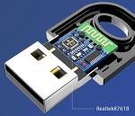 블루투스 5.0 동글, 리얼텍 칩 RTL8761B