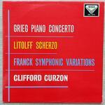 Clifford Curzon - 그리그 피아노 협주곡 (지휘 Øivin Fjeldstad)