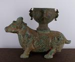 AD106. 청동 준 -여기저기 알튐및 산화가 보여짐- (7kg)