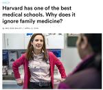 하버드 의과대학에는 가정의학과 레지던트 프로그램이 없다.