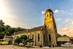 로마네스크 양식의 석조성당, 횡성성당