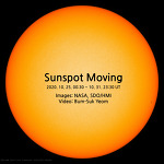 Sunspot Moving (movie). 2048 x 2048 pixels.