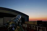 Crescent Moon & Observatory 초승달과 천문대