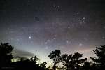 Winter Hexagon & Milky Way  겨울의 대육각형과 은하수