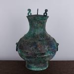 AD105. 청동 호 -여기저기 알튐및 산화가 보여짐- (2.9kg)