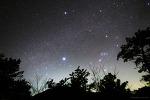 Winter Triangle & Milky Way  겨울의 대삼각형과 은하수