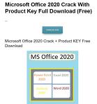 해외 MS 오피스 2020 다운로드 게시글 가짜인 이유