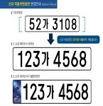 차량번호인식시스템 9월부터 세 자리로