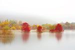 가을 호수