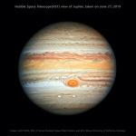 Hubble's New Portrait of Jupiter  허블우주망원경이 촬영한 목성