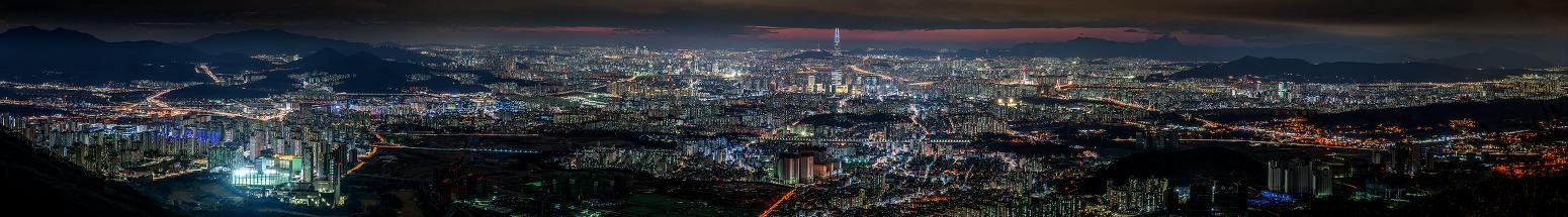 남한산성 파노라마