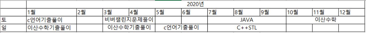 2020년 무료특강 연간계획 안내