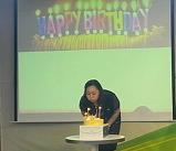 생일축하와 오랜만의..