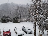 눈비산 넘어 눈이..