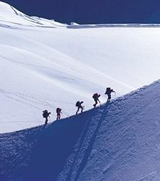하얀 눈옷 입은 아름<br>다운 산을 찾아가자